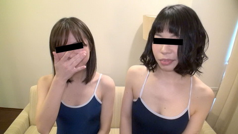 スク水で初めての3P 宮原圭子 福原静子
