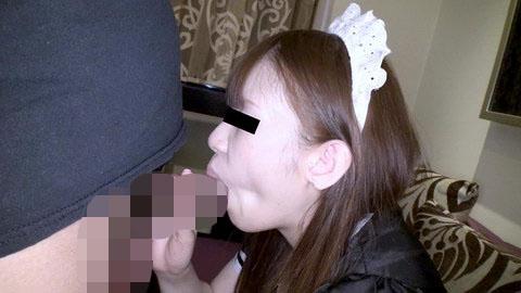 射精後も精子を欲しがるパーフェクトボディの萌えメイド 林京子